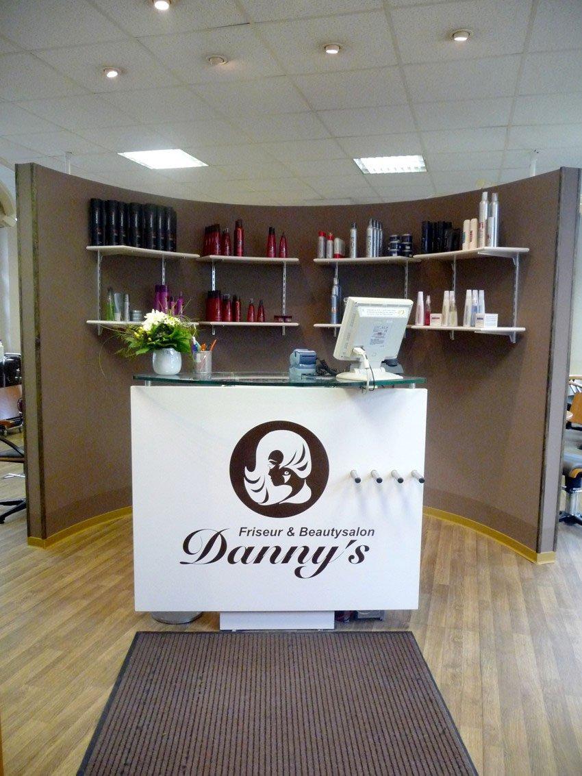 Rezeption in Danny's Friseur und Beautysalon in Wismar
