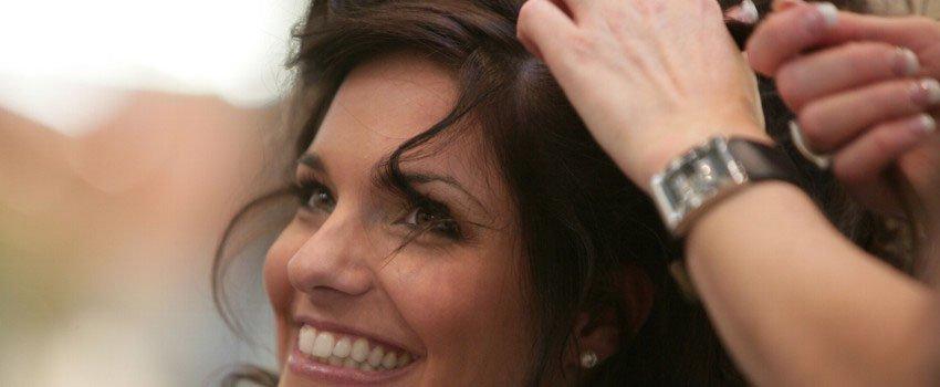 Damenhaarschnitt beim Friseur in Wismar
