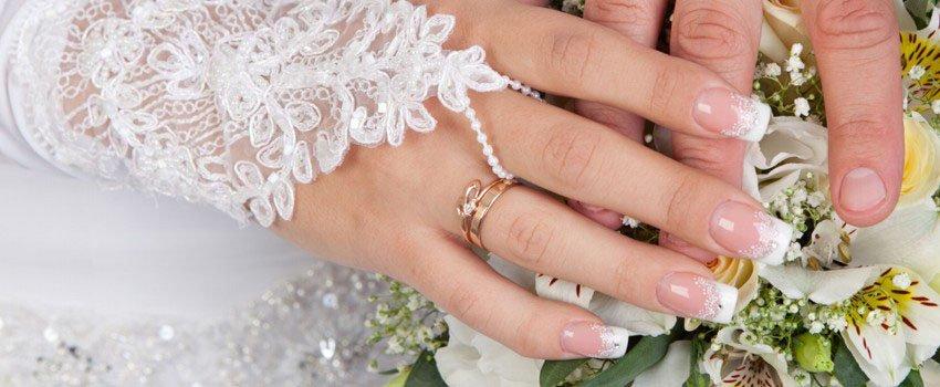 Nagelstudio Hochzeit Braut Wismar